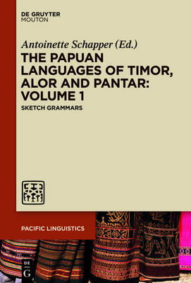 The Papuan Languages of Timor, Alor and Pantar. Volume 1 - Pacific Linguistics [PL]