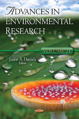 Advances in Environmental Research: Volume 21 (Hardback)