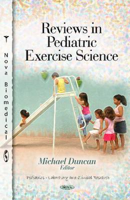 Reviews in Pediatric Exercise Science (Hardback)