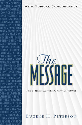 Message Bible-MS-Numbered: The Bible in Contemporary Language (Hardback)
