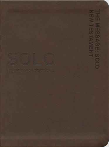 Message: Solo New Testament-MS (Leather / fine binding)