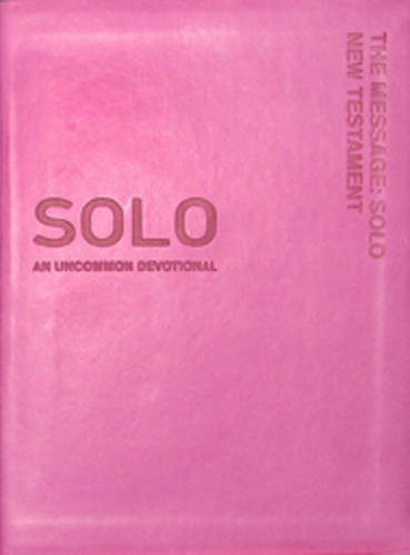 The Message: Solo New Testament (Leather / fine binding)