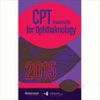 2015 CPT Pocket Guide for Ophthalmology (Spiral bound)