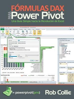 Formulas DAX para PowerPivot: Una guia simple hacia la revolucion de Excel (Paperback)
