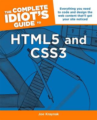The Complete Idiot's Guide To Html5 & Css3 (Paperback)