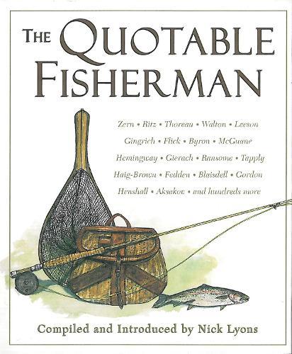 The Quotable Fisherman (Hardback)