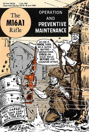 The M16A1 Rifle: Operation and Preventive Maintenance (Hardback)