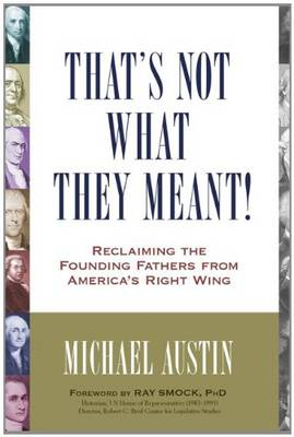That's Not What They Meant! (Paperback)