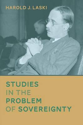 Studies in the Problem of Sovereignty (Paperback)