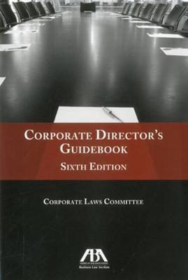 Corporate Director's Guidebook (Paperback)