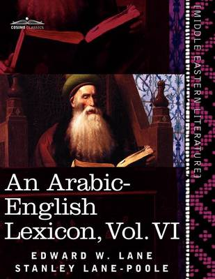 An Arabic-English Lexicon (in Eight Volumes), Vol. VI: Derived from the Best and the Most Copious Eastern Sources (Paperback)