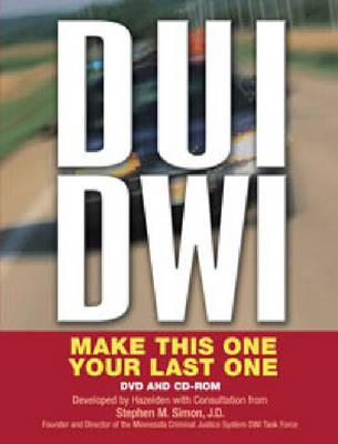 DUI/DWI CD-ROM and DVD: Make This One Your Last One