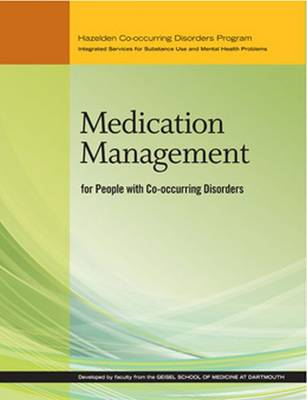 Medication Management for People With Co-occurring Disorders (Paperback)