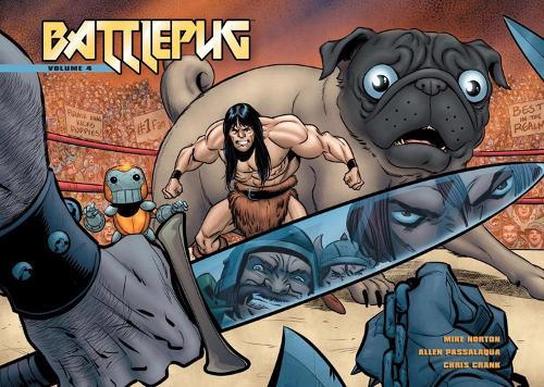 Battlepug Vol. 4: The Devil's Biscuit (Paperback)