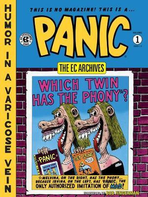 Ec Archives: Panic Volume 1 (Hardback)