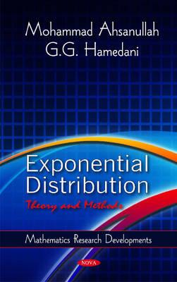 Exponential Distribution: Theory & Methods (Hardback)