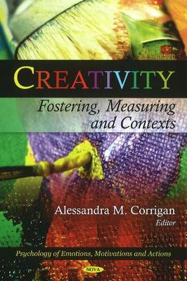 Creativity: Fostering, Measuring & Contexts (Hardback)