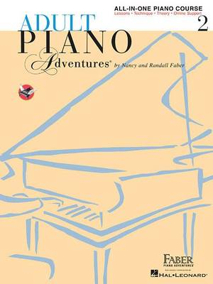 Adult Piano Adventures: All-in-One Lesson Book 2 (Paperback)