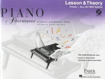 Piano Adventures: Lesson And Theory Book - Primer (Book/CD) (Paperback)