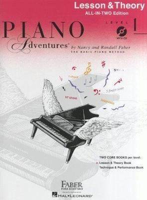 Piano Adventures: Lesson And Theory Book - Level 1 (Book/CD) (Paperback)