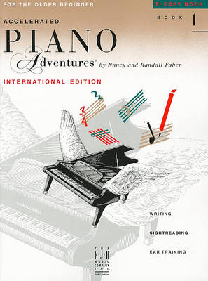 Accelerated Piano Adventures - Theory Book 1 (International Edition) (Paperback)