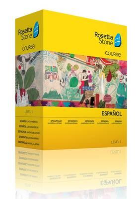 Rosetta Stone Spanish (Latin America) Level 1 (CD-ROM)