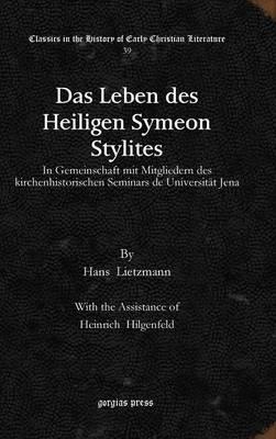 Das Leben Des Heiligen Symeon Stylites (Hardback)