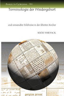 Terminologie Der Wiedergeburt (Paperback)