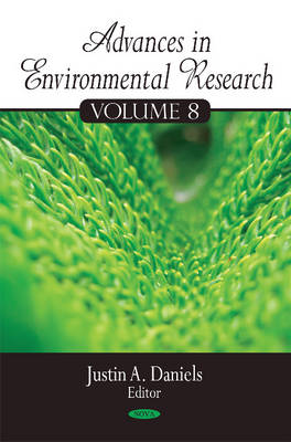 Advances in Environmental Research: Volume 8 (Hardback)