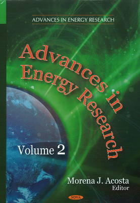Advances in Energy Research: Volume 2 (Hardback)