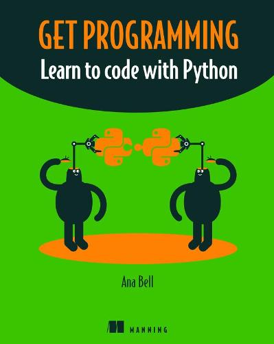 Cover Get Programming: Learn to code with Python