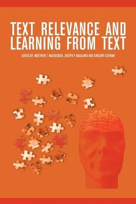 Text Relevance and Learning from Text (Paperback)
