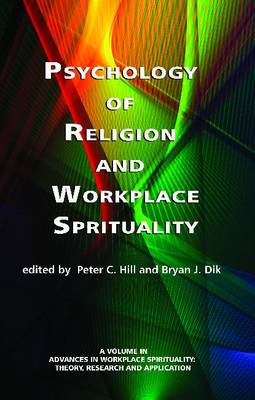 Psychology of Religion and Workplace Spirituality (Paperback)