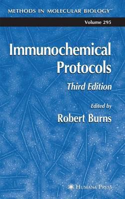 Immunochemical Protocols - Methods in Molecular Biology 295 (Paperback)
