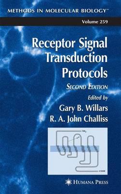 Receptor Signal Transduction Protocols - Methods in Molecular Biology 259 (Paperback)