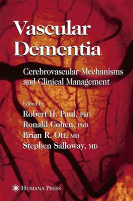 Vascular Dementia: Cerebrovascular Mechanisms and Clinical Management - Current Clinical Neurology (Paperback)