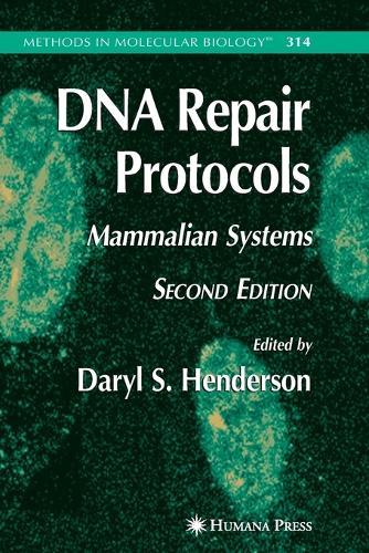 DNA Repair Protocols - Methods in Molecular Biology 314 (Paperback)