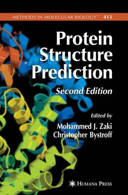 Protein Structure Prediction - Methods in Molecular Biology 413 (Paperback)