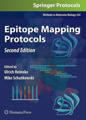 Epitope Mapping Protocols - Methods in Molecular Biology 524 (Paperback)