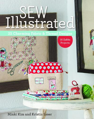 Sew Illustrated: 35 Charming Fabric & Thread Designs (Paperback)