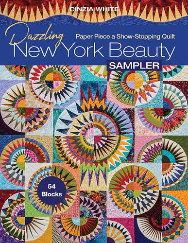 Dazzling New York Beauty Sampler: Paper Piece a Show-Stopping Quilt; 54 Blocks (Paperback)