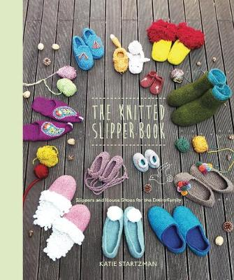 The Knitted Slipper Book (Paperback)