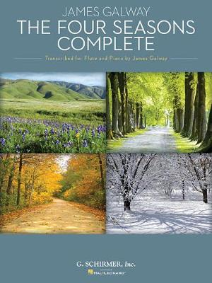 Antonio Vivaldi: The Four Seasons Complete (James Galway) - Flute (Paperback)