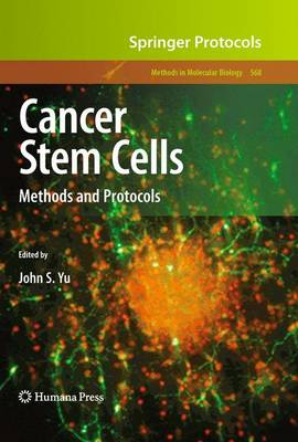 Cancer Stem Cells: Methods and Protocols - Methods in Molecular Biology 568 (Paperback)