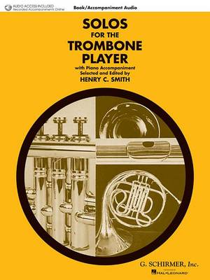 Solos For The Trombone Player - Book/CD (Paperback)