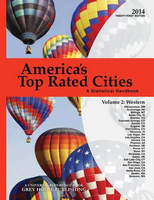 America's Top-Rated Cities 2014: West Volume 2 (Paperback)
