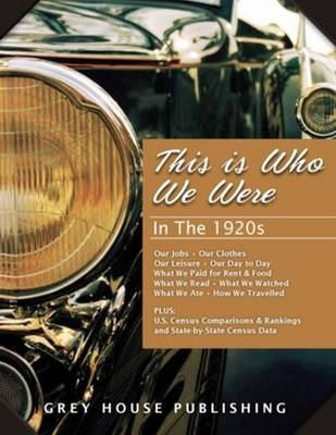 This is Who We Were: In the 1920s (Hardback)