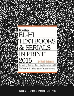 El-Hi Textbooks & Serials in Print 2014 (Hardback)