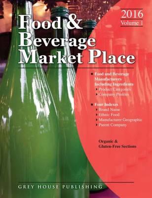Food & Beverage Market Place: 3 Volume Set, 2016 (Paperback)