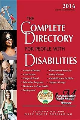 Complete Directory for People with Disabilities, 2016 (Paperback)